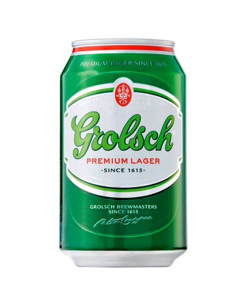 Grolsch can 330